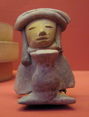 Seated Female Figure with Jar