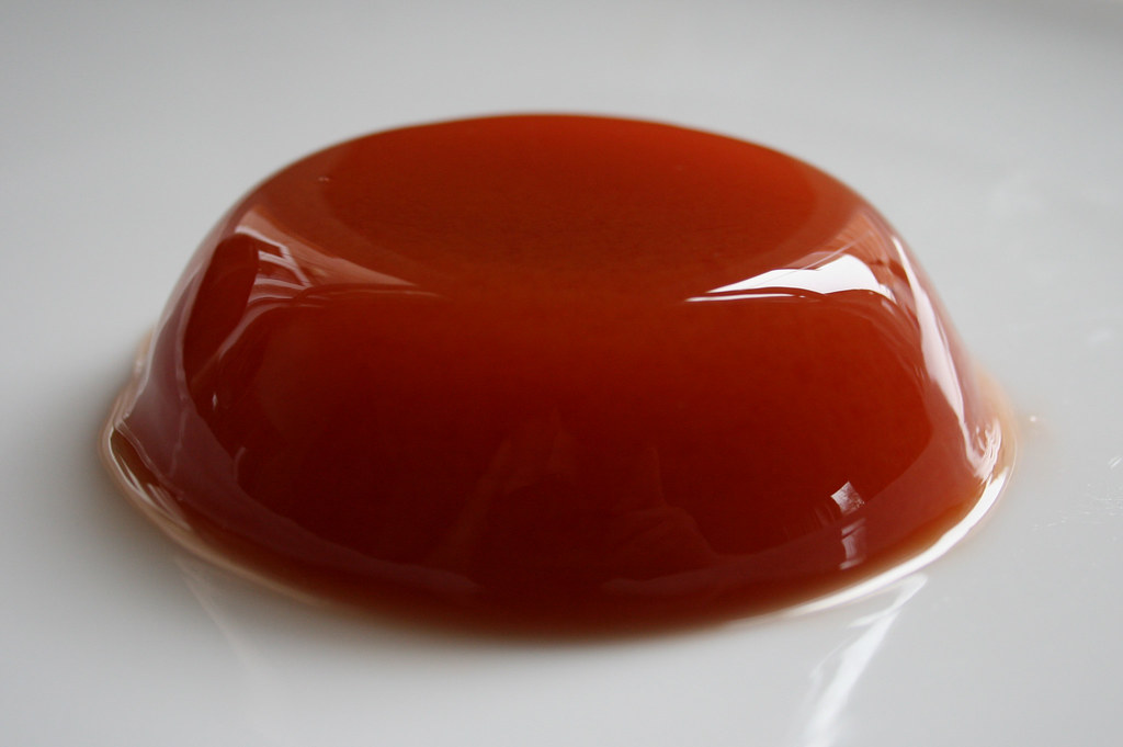 Pomegranate and Passionfruit Jelly