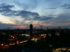Ostkreuz: Sunset in Berlin