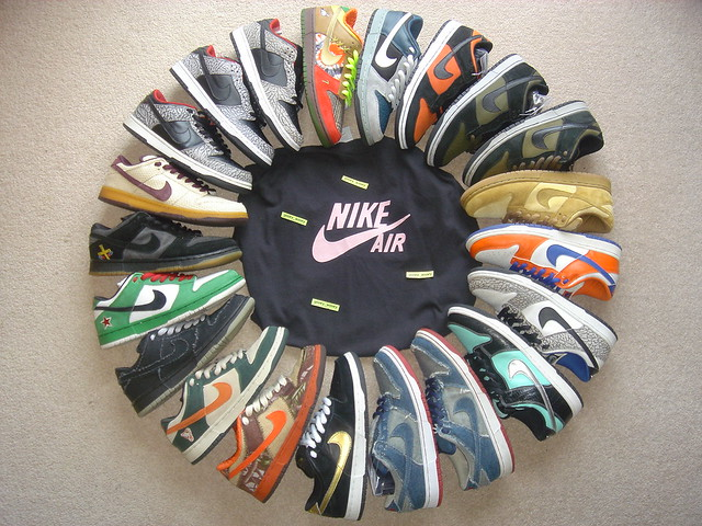 huge discount 04ea1 43856 by gooeywooey My Nike Dunk SB Collection (as of Aug 08).  by gooeywooey