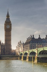 Big Ben, Westminster Bridge, Portcullis House