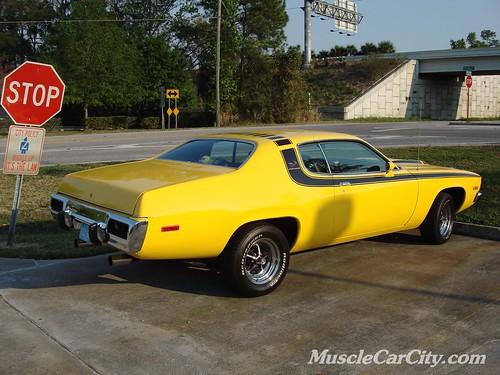 Roadrunner Muscle Car