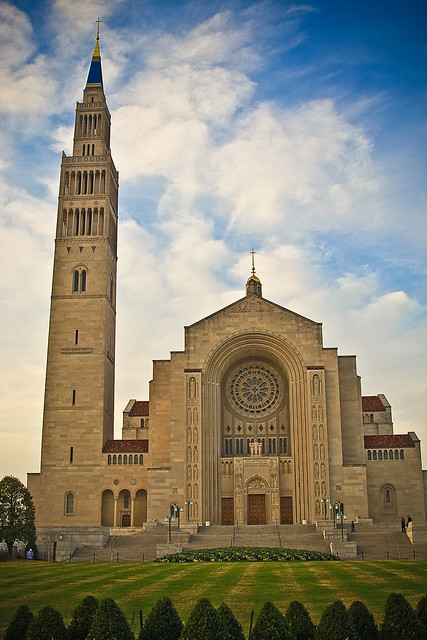 National shrine of the oh so immaculate conception.