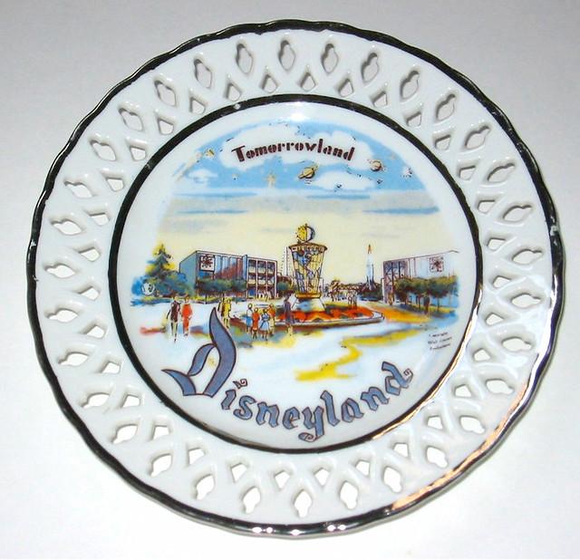 50s Tomorrowland Welborn plate