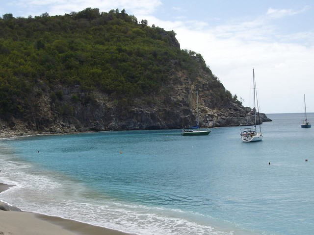 Boating At St Barts
