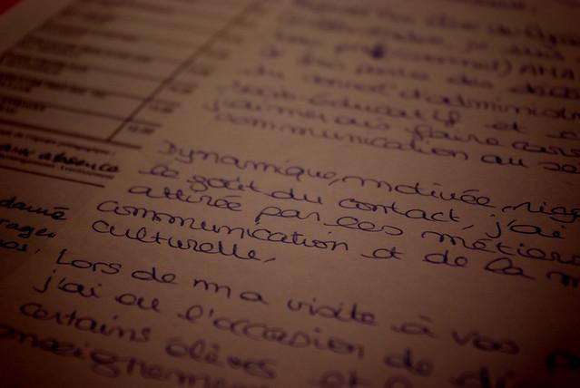 le comble pour  u00e9crire une lettre de motivation est de ne pas avoir de motivation
