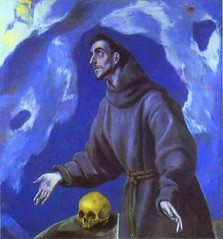 El Greco (1541-1614) - 1590-95 St, Francis Receiving the Stigmata