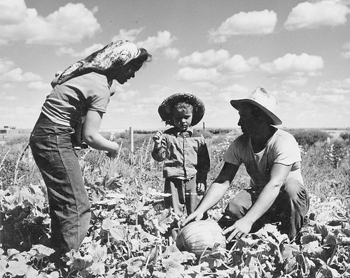 Sam Hauka Family On Their Farm