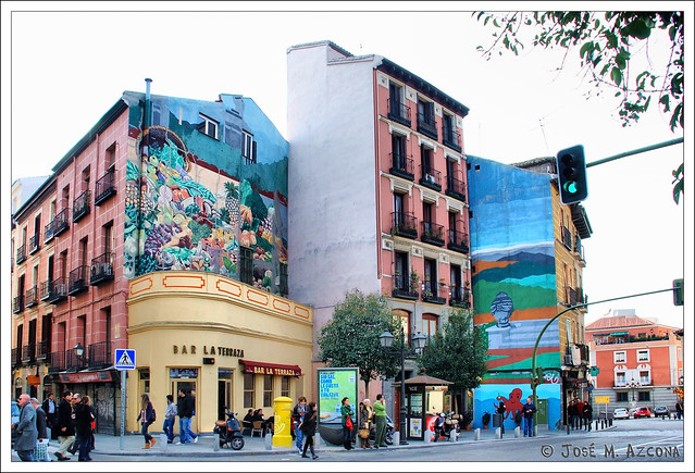 Madrid. Plaza de Puerta Cerrada.