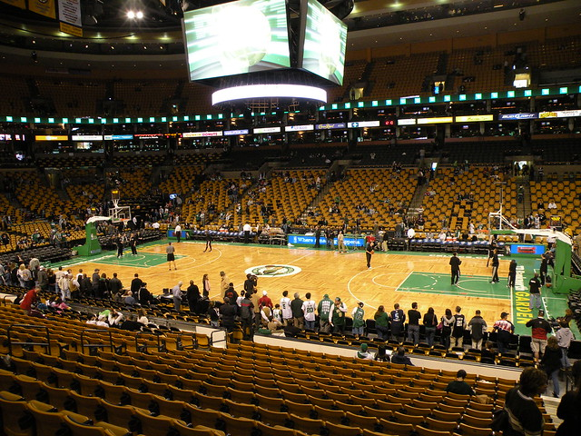 Td Banknorth Garden Boston Celtics Flickr Photo Sharing