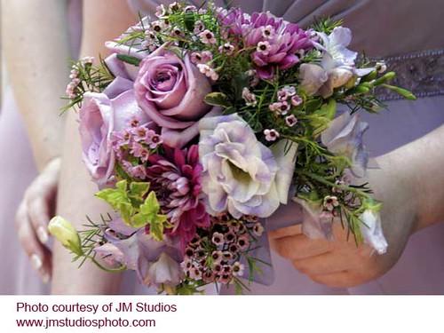 Lavender Wedding Bouquet By Beikmann Associates