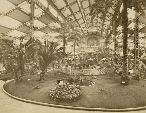 Nice. Winter Garden in the Municipal Casino (Interior)