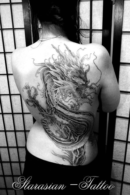 Starasian Tattoo Art - Dragon Nass2