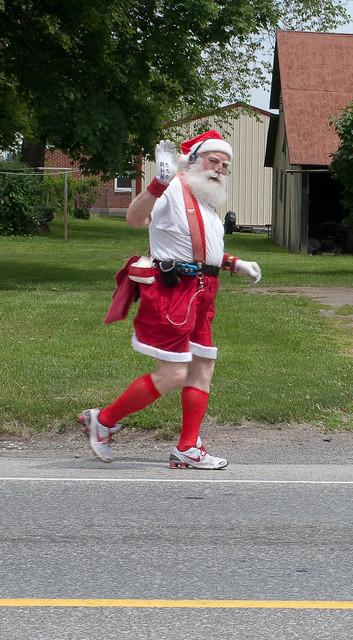 Jogging SantaSanta Jogging
