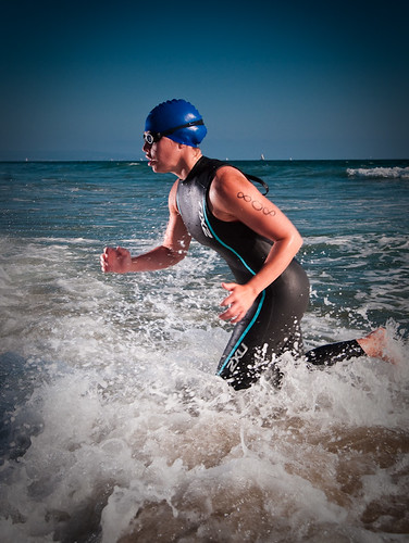 Triathlete Kelly Rockwell