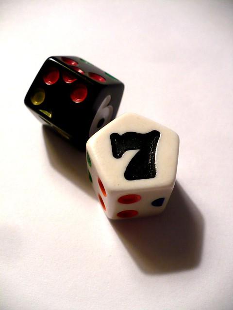 7 side dice