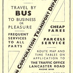 Preston Corporation Transport Department, advert 1947