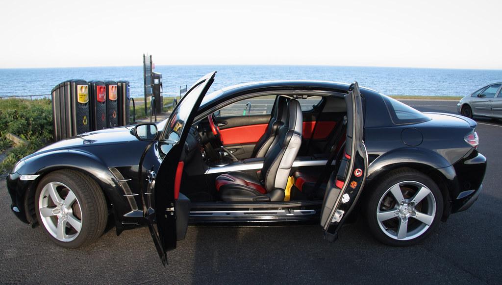 Mazda RX8 Interior & Rx8 Doors Black \u0026 Image Is Loading 2004-2008-Mazda-Rx8-RX-8-left-right-