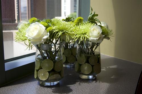 Centerpieces bouts corsages bouquets large