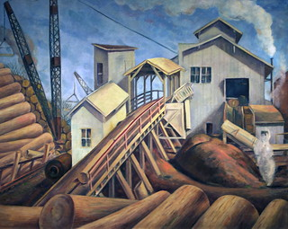 Lumber Industry by  William Arthur Cooper