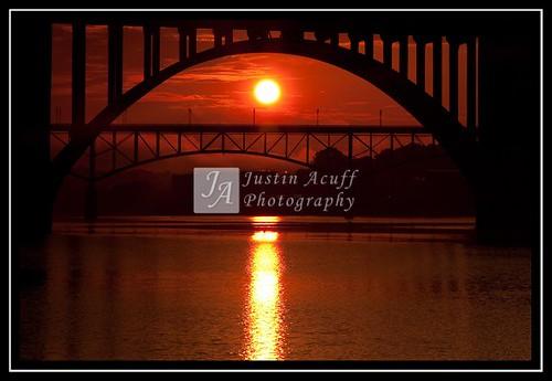 bridge sunrise knoxville henleystreetbridge gaystreetbridge