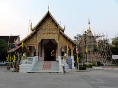 Wat Chai Phra Kiat in Chiang Mai, Thailand