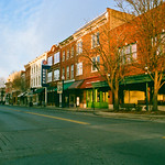 Williamson West Virginia Main Street Sunrise