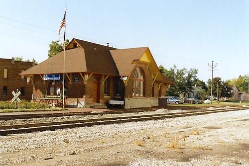 railroad station iowa depot 1886 nationalregisterofhistoricplaces therockisland chicagorockislandpacificrailroad chicagorockislandpacificry burlingtoncedarrapidsnorthernrr