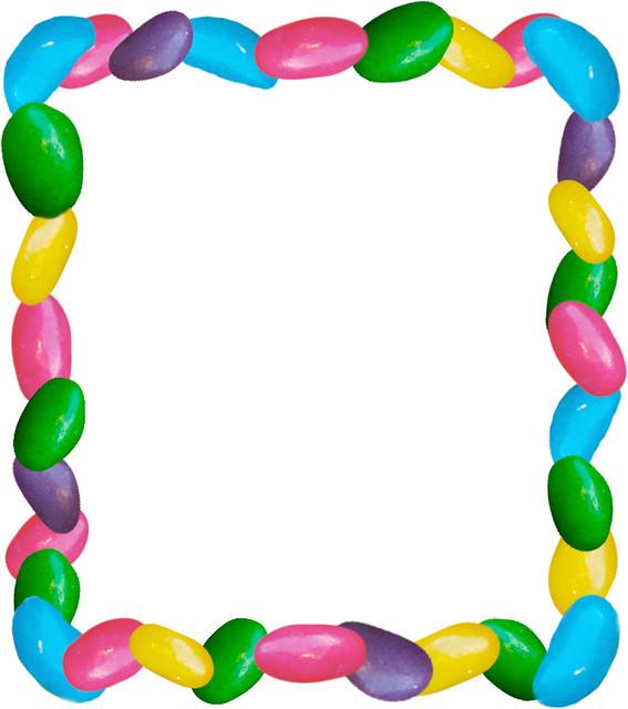 Jelly Bean Frame | I am not feeling so great today, so I hav ...