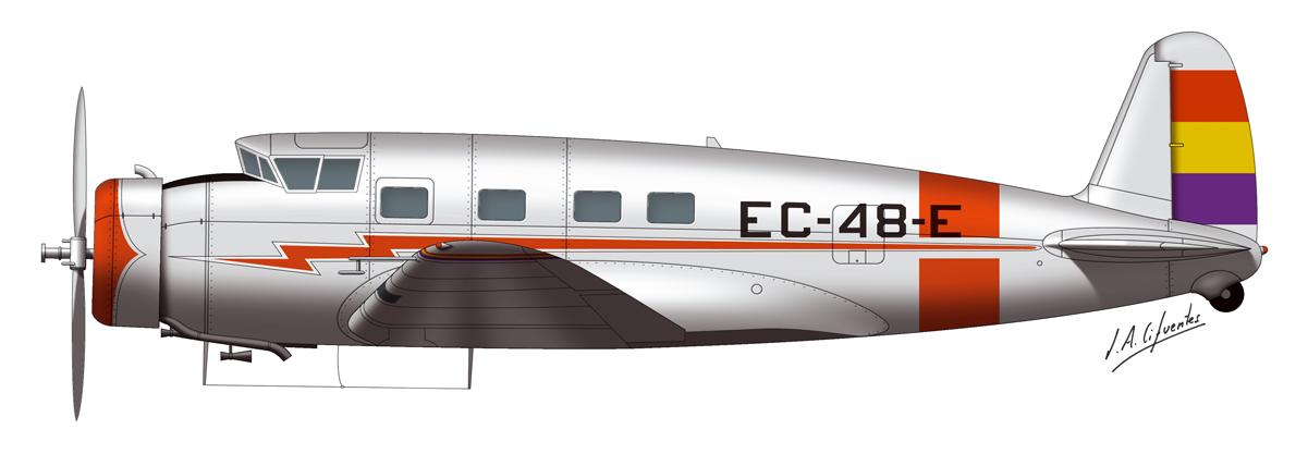 Vultee EC-48-E 1