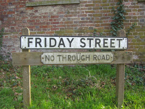 Friday Street sign by satguru