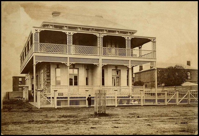 Residence north terrace adelaide 1880 flickr photo for 165 north terrace adelaide