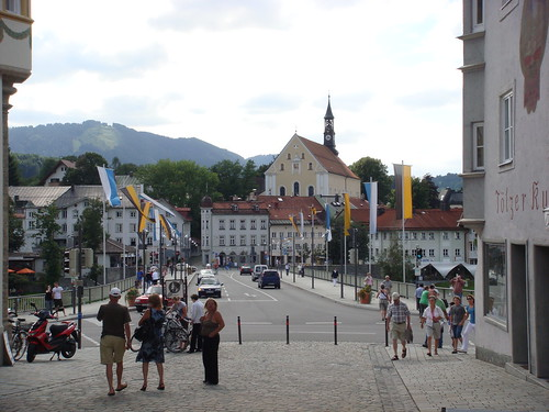Tg 00050 Looking Across The River from Markt Strasse, Bad Tolz, Germany, Image by Craig Hill, Travelgroupie