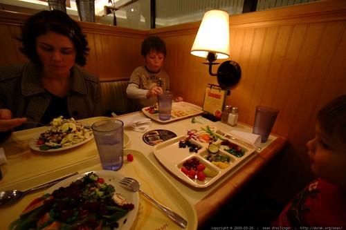 salad bar for dinner    MG 9901