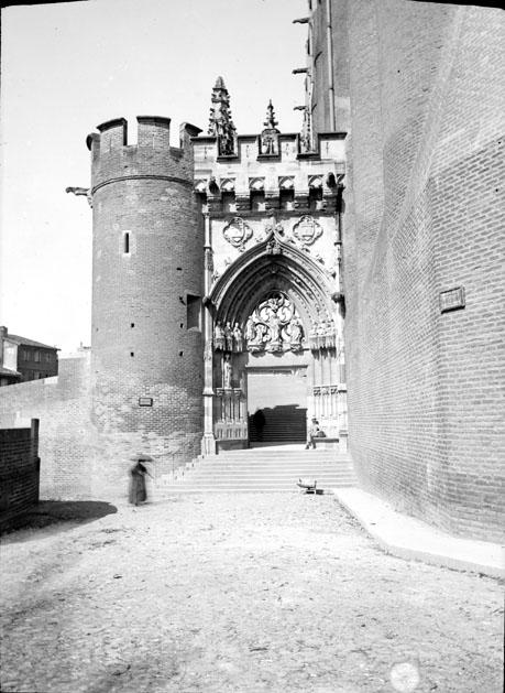 Porte de la cathédrale, Albi