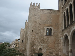 Image of Almudaina Palace near Palma de Mallorca. mallorca holidaymallorca