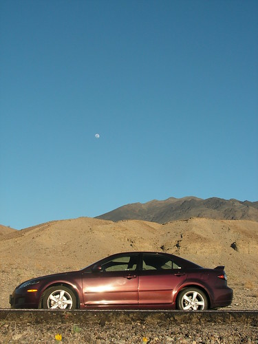Mazda 6 in Death Valley California