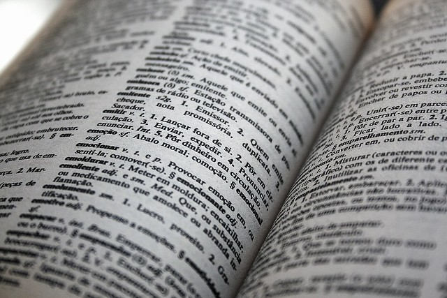 Close-up of an opened dictionary | Flickr - Photo Sharing!
