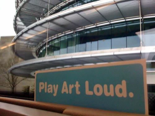 Playin' Art Loud at the IMA