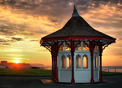 Sunrise on the seafront