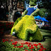 Snow White topiary 9140