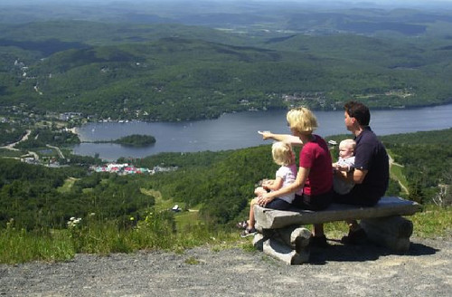 Tremblant QUE family vista