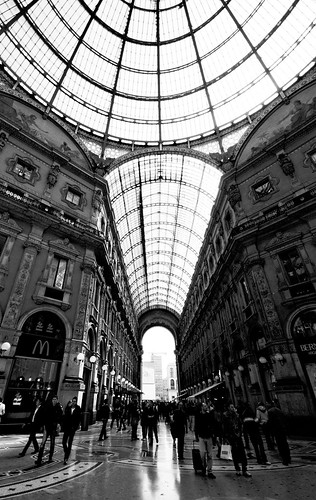 Milan from life of Giorgio Manganelli