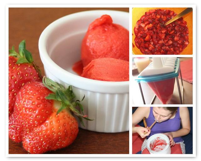 Strawberry Gelato | Flickr - Photo Sharing!