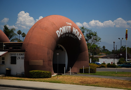 """The Donut Hole"" Drive-Thru, La Puente"