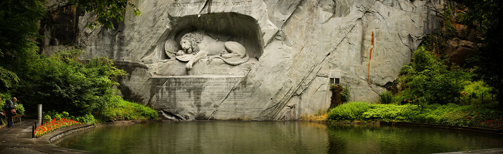 Lion sculpture Lucerne