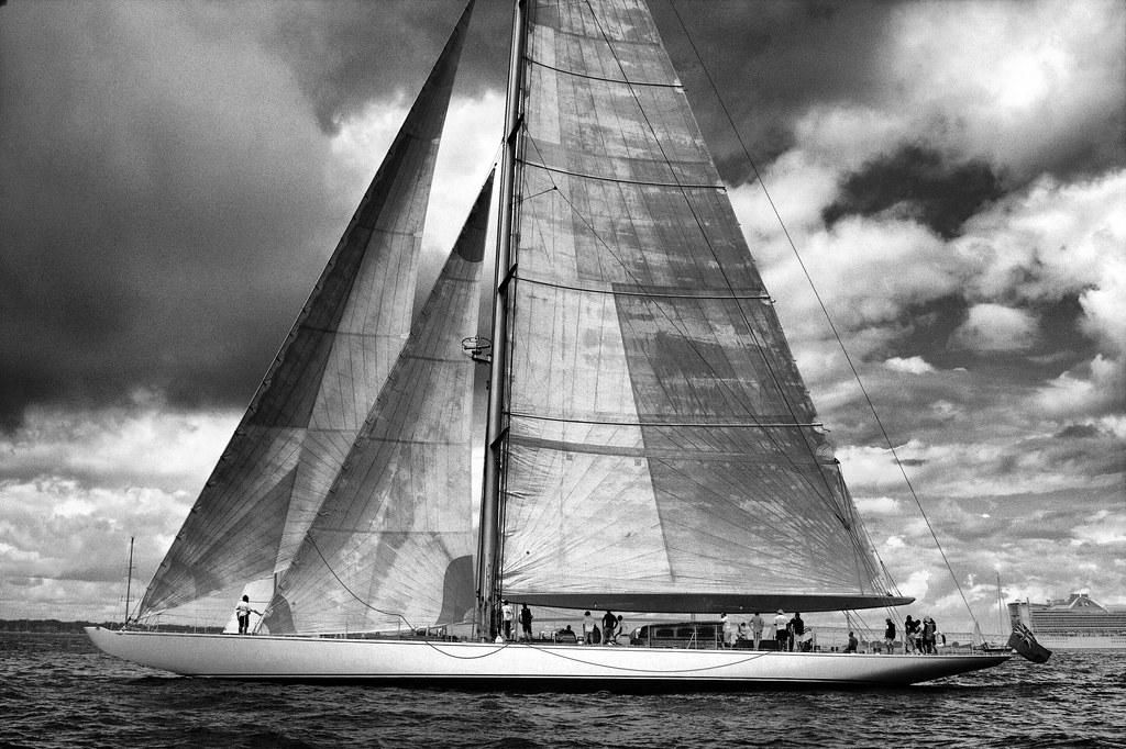 J Class Yacht - The Ranger by hbp_pix