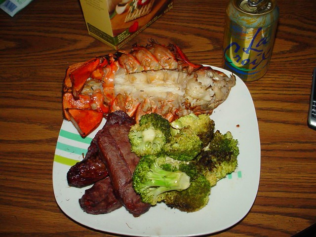 Steak and Lobster for Dinner | Flickr - Photo Sharing!