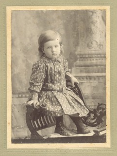 Portrait of a Victorian child - Parkhill, Ontario