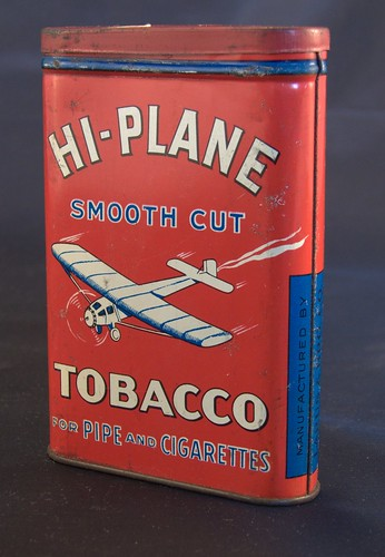 Hi-Plane Tobacco Tin Front by veracity74